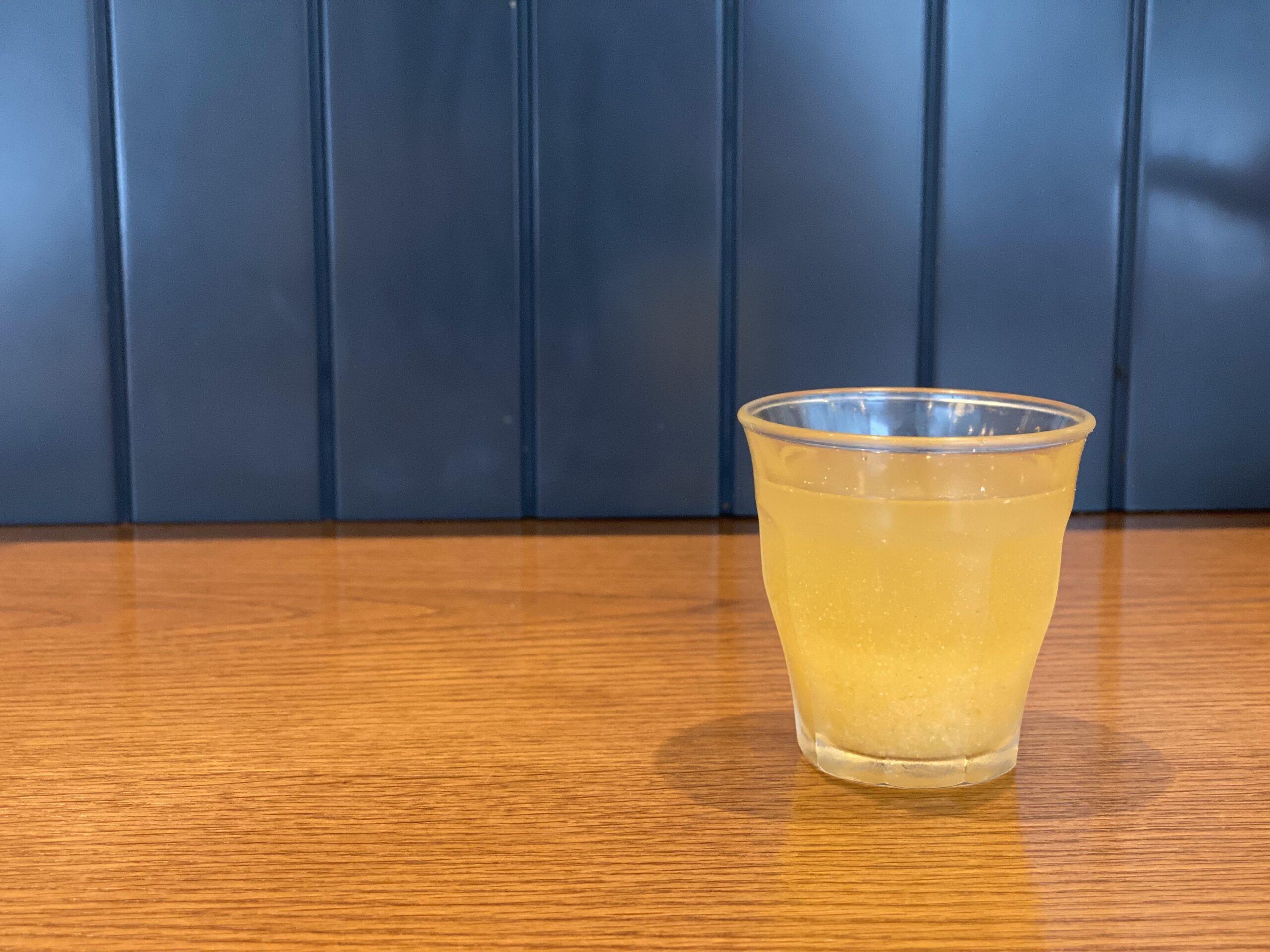 【山本のハンバーグ】3月の野菜ジュースはリンゴがベース!