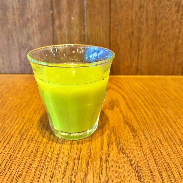 【山本のハンバーグ】4月の野菜ジュース!